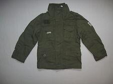 BNWT NEXT Boys Khaki Superior Quality Jacket Coat Anorak 3-4 Years