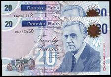 new 2012 2016 (northern) DANSKE bank ltd belfast £20 banknote N Ireland currency