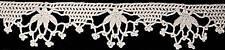 Vintage Antique Crochet PATTERN to make Fuchsia Flower Lace Edging FuchsiaEdging