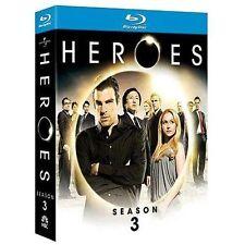 Heroes: Season 3 [Blu-ray] Box Set Brand NEW! & Free Shipping
