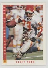 1993 Score #7 Barry Word Kansas City Chiefs Football Card