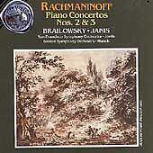 Rachmaninov: Concerto Nos. 2 & 3 Brailowsky Janis (CD, Apr-1991, RCA)