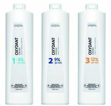 Loreal Professionnel Oxydant Hair Cream Peroxide Developer 6% 9% 12% 1Ltr