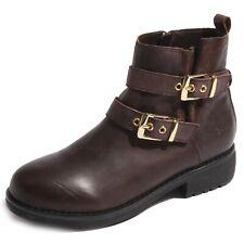 B0216 stivaletto donna GAUDI' scarpa marrone boots shoes women