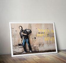 Banksy Graffiti arte cartel impresión Steve Jobs Foto A3 A4