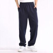 Hombre Pantalones de Chándal Casual Senderismo Gimnasio Talla Grande 2XL~6XL