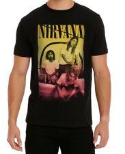 Nirvana Kurt Cobain GROUP PHOTO T-Shirt NWT Authentic & Official