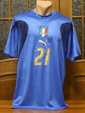 2006 World Cup Team Italia Italy Andrea Pirlo No21 Jersey by Puma