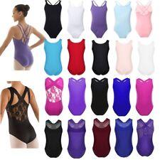 Girls Gymnastics Ballet Dress Leotard Tutu Skirt Toddler Kids Dancewear Costume