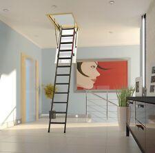 FAKRO LMK Bodentreppe Dachbodentreppen Speichertreppe  mit Metallleiter