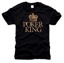 Poker King-t-shirt, talla s hasta XXXL