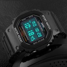 New Luxury Men's Fashion LED Digital Date Sports Quartz Waterproof Wrist Watch