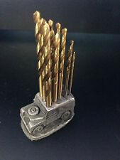 Drill bit holder land rover série 1 15 forets 1/1.5/2/2.5/3mm hss ref112car