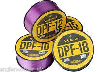 Wychwood DPF Deep Purple Fluro Coated Mono Fishing Line - All Sizes / Leeda