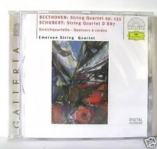 BEETHOVEN SCHUBERT STRING QUARTET OP 135 -  D 887  CD