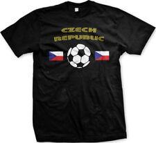 Czech Republic National Soccer Team European Football Mens T-shirt