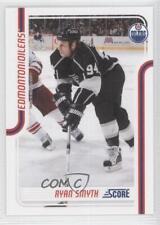 2011-12 Score #195 Ryan Smyth Edmonton Oilers Hockey Card