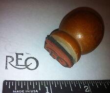 Reo Logo Script Antique Car Maker Rubber Stamp (Ransom E. Olds)