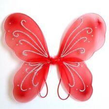 Girls Kids Fairy Butterfly Wings Fancy Dress Halloween Party Dressing Up Costume