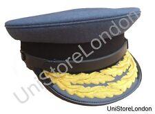 RAF Officre's Cap 2 Rows Gold O/L Peak Cap R627