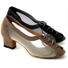 Women's Ballroom Salsa Latin Practice Nubuck Dance Shoes 1644 Very Fine 2