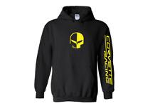 CORVETTE RACING hoodie guildan S M L 1 2 3 4 5 XL chevy v8 team Jake skull C7R