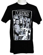 Misfits T-shirt Shocking Return Horror Punk Graphic Tee Black Preshrunk NWT