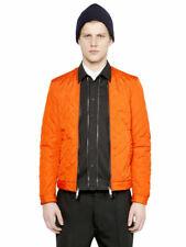 Dsquared2 Men's Orange Quilted Jacket With Detachable Shirt  Size XS M L XL