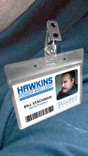 Stranger Things Hawkins Power and Light Halloween Costume ID Badge Card HP&L