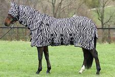 Fliegendecke Zebra Euroriding, Zebra Fliegen Decke Halsteil abnehmbar, Buzz Off