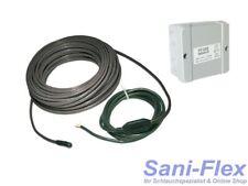 Dachrinnenheizung, Heizband, Heizkabel, Länge 7,5m bis 150m, Thermostat Regler