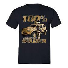 American Flag T-Shirt 4th of july clothes Fourth Army Patriot USA Tshirt Black
