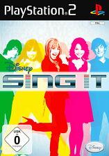Play Station 2 Spiel PS2 Disney Sing It mit Anleitung guter Zustand + OVP
