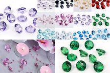 10 Acryl Kristalle Dekosteine Diamanten Look Streuteile Tischdeko Steine Ø 20mm