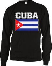Cuba Flag Colors Font Cuban Soccer Heritage Born From Team CUB CU Men's Thermal