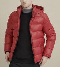 1 GUESS Basic Puffer Jacket Black Navy Yellow RED Winter NEW 100% Original
