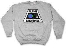 ALPHA MOONBASE LOGO SWEATSHIRT Space Mondbasis 1 1999 TV Series Sweat Pullover