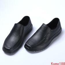 Mens Rainboots Kitchen antiskid Light Weight Waterproof rubber Work Ankle Boots