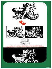 Hola Amigo German movie wall Decoration Poster.Graphic Art Interior design. 3400