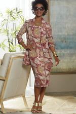 Nuru Ethnic Jacket Dress African American Pride Ashro Women's Size 16W PLUS