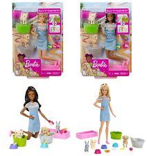 AUSWAHL: Mattel - Barbie Badespaß Tiere & Puppe - Tiersitter Hundesitter Doll