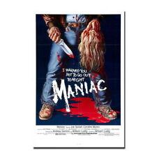 138146 MANIAC Horror Movie Wall Poster Print UK