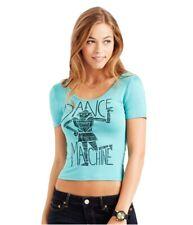 Aeropostale Womens Dance Machine Bodycon Graphic T-Shirt