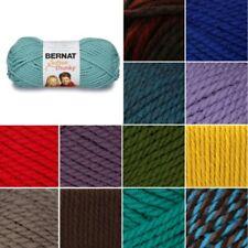 Bernat Softee Super Chunky Solid Yarn Acrylic Knit Knitting Crochet 100g Ball