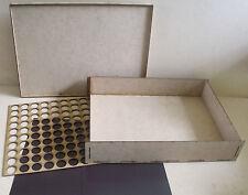 Magnetic Storage case 70mm for warhammer 40k wargames games workshop carry multi