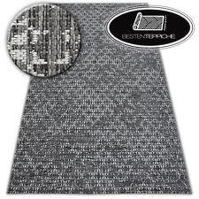 """Modern Teppich """"LOFT"""" elfenbein silber Flachflor Dicht Gewebtem beste Qualität"""