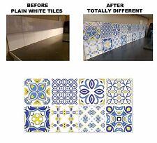 """ADESIVI Motivo Mosaico trasferimenti per 148mm/150mm & 6"""" 6 pollice quadrato Piastrelle C26"""