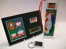 South Park Cartman 3 Piece Movie Film Cell Memorabilia Collection Gift Set Lot