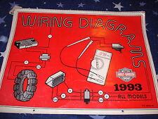 Harley Davidson 1993 All Models Wiring Diagrams  P/N 99949-93