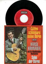 Hansl Krönauer      -    Golden schimmern meine Berge